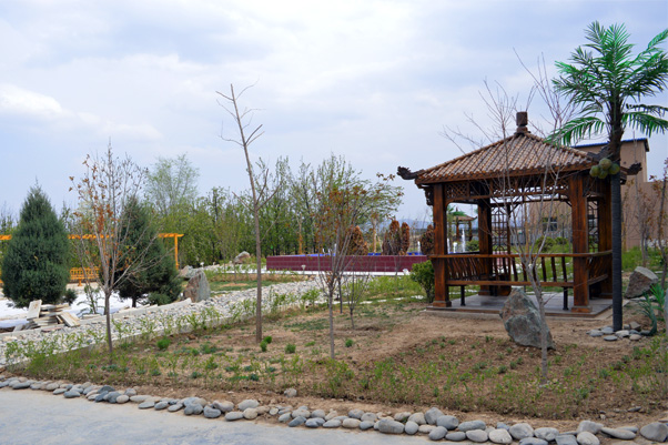 轨道交通运输学校(甘肃)榆中校区校园环境